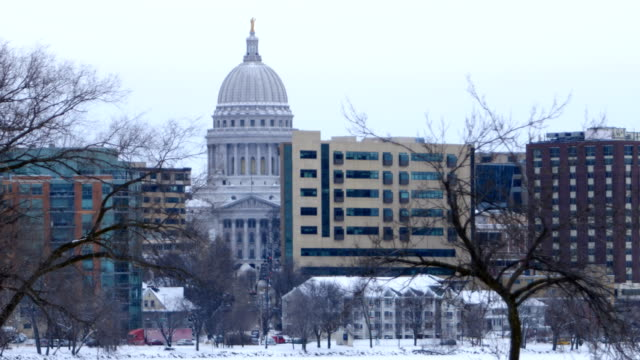 madison, wi - capital cities stock videos & royalty-free footage