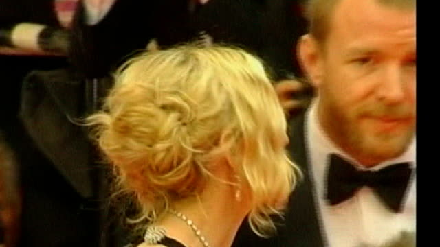 Madonna and Guy Ritchie divorce TX Cannes Madonna and then husband Guy Ritchie on red carpet ENDS