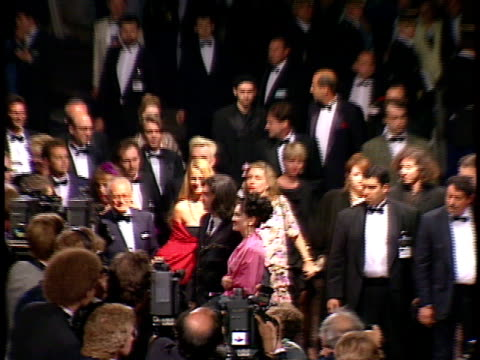 madonna and her entourage walk down the red carpet at a celebrity event - singer stock videos & royalty-free footage