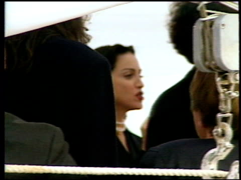madonna at the 1991 cannes film festival at cannes film festival in cannes on may 1, 1991. - マドンナ点の映像素材/bロール