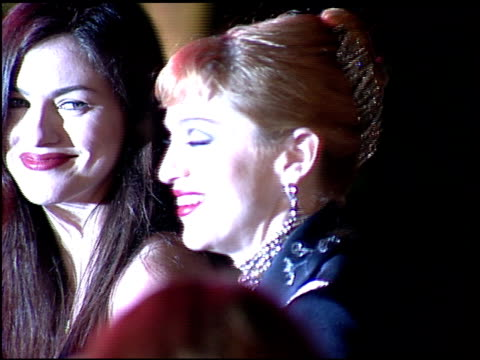 madonna at the 1997 academy awards vanity fair party at the shrine auditorium in los angeles california on march 24 1997 - 1997 stock videos & royalty-free footage