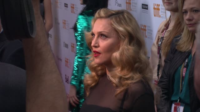 Madonna at the 'WE' Premiere 2011 Toronto International Film Festival at Toronto ON
