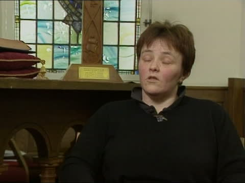 rocco ritchie christening:; pool reverend susan brown interviewed sot - baptism lays particular obligations on parents - they also have to promise to... - partnership stock videos & royalty-free footage
