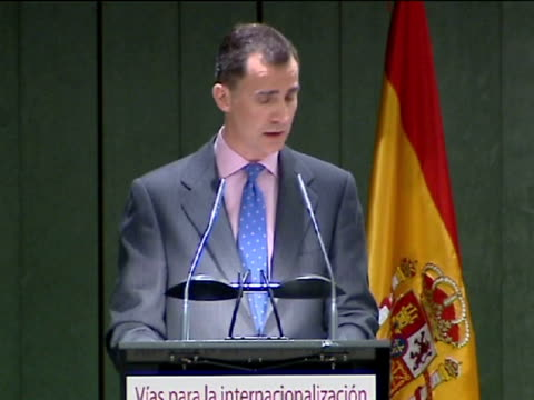 Santiago Castro Spain's Prince Felipe considers it 'essential' to strengthen the international aspect of small and medium companies and called for...