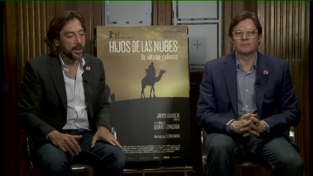 Madrid 16 May Spanish actor and Academy Award winner Javier Bardem was in Madrid to promote his latest project the documentary 'Sons of the Clouds'...