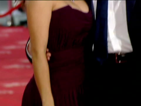 stockvideo's en b-roll-footage met madrid 20 feb 26th edition of the goya awards ceremony met on its red carpet the mexican actress salma hayek who was nominated as best actress for... - salma hayek