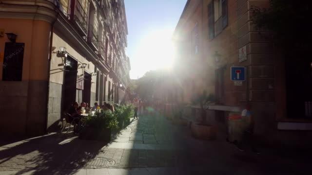 vídeos y material grabado en eventos de stock de madrid, capital de españa - bar