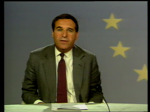 Financial implications BELGIUM Brussels Sir Leon Brittan 2WAY interview SOT says that Britain's role in EMU talks would be enhanced by its' joining...