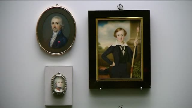 vídeos de stock e filmes b-roll de raul garcia madrid's prado museum has put on display for the first time its collection of miniatures in an exhibition in which visitors can enjoy 39... - prado