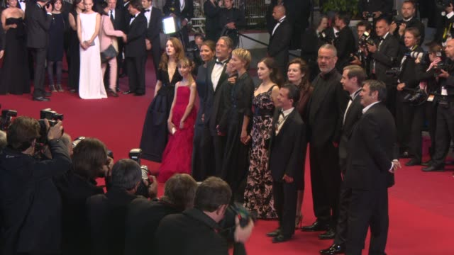 Mads Mikkelsen Amira Casar Delphine Chuillot Sergi Lopez Melusine Mayance Arnaud des Pallieres and Roxane Duran at the 'Michael Kohlhaas' Red Carpet...