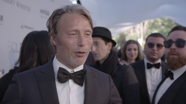 INTERVIEW Mads Mikkelsen on being at AmfAr on being part of the jury in Cannes at amfAR's 23rd Cinema Against AIDS Gala Arrivals at Hotel du...