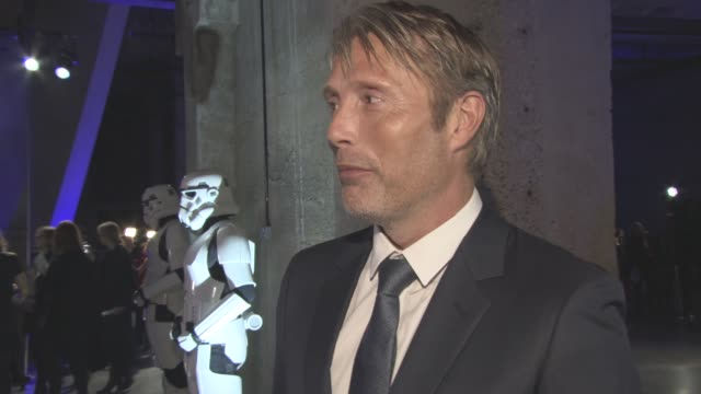 INTERVIEW Mads Mikkelsen on the relief that the film in out showing millions of people the film the fans reaction becoming an actor later in his life...