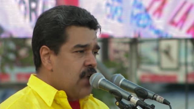 maduro on stage 2 ms maduro on stage 3 cu maduro on stage 4 ws maduro walking on stage 5 ms maduro talking 6 cu maduro talking 7 ms maduro walking in... - maduro stock videos & royalty-free footage