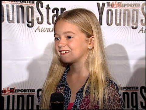 madylin sweeten at the youngstar awards nominations at the mondrian hotel in west hollywood, california on september 6, 2000. - モンドリアンホテル点の映像素材/bロール