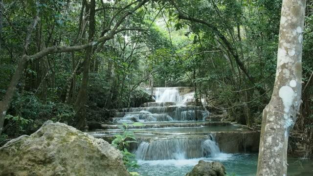 maekhamin waterfall - recreational horse riding stock videos & royalty-free footage
