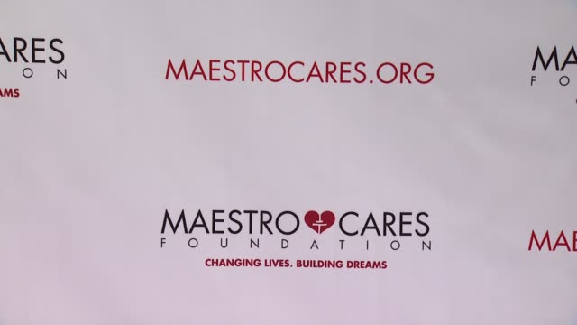 maestro cares first annual gala dinner - new york at cipriani, wall street on february 18, 2014 in new york city. - cipriani manhattan stock videos & royalty-free footage