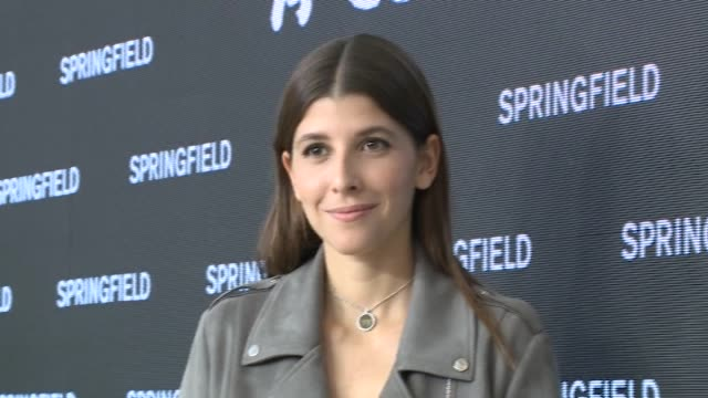 mafalda sajonia-coburgo, miguel angel silvestre and andrea molina attend the springfield new collection presentation photocall at camera studio - silvestre bildbanksvideor och videomaterial från bakom kulisserna