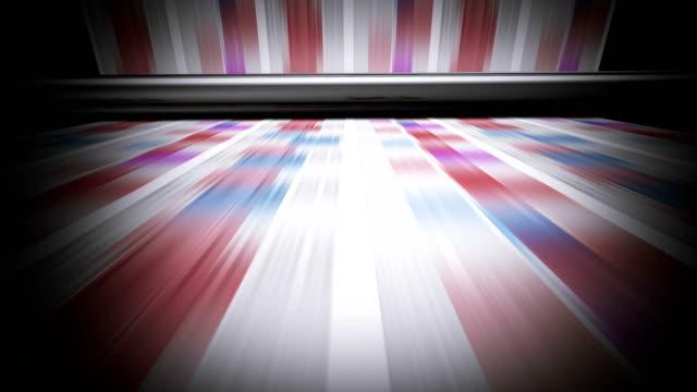 stockvideo's en b-roll-footage met het drukken van tijdschriften - journalisme