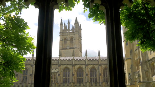 magdalen college,oxford,zo, - column stock videos & royalty-free footage
