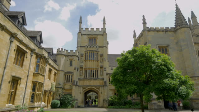 magdalen college,oxford, - cambridge england stock videos and b-roll footage