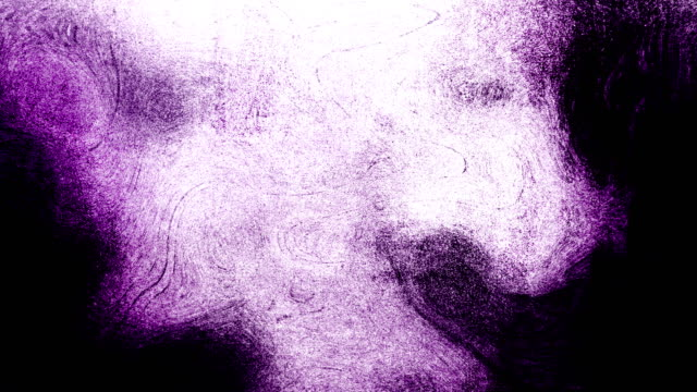 magenta high contrasted blizzard grungy and dirty, animated, distressed and smudged stormy sky, clouds 4k video background with swirls and frame by frame motion feel with van gogh style - imperfection stock videos & royalty-free footage
