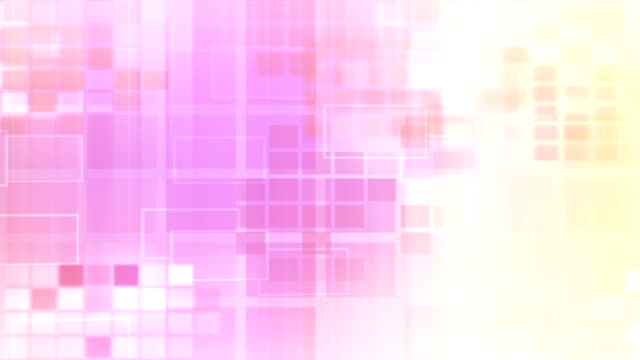 Magenta, Gelb leuchtenden Blocks Loop 16-bit
