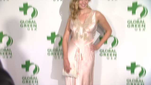maggie grace at the global green usa 11th annual pre-oscar® partyat avalon on february 26, 2014 in hollywood, california. - oscar party stock videos & royalty-free footage