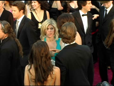 maggie gyllenhaal at the 2005 annual academy awards arrivals at the kodak theatre in hollywood california on february 28 2005 - 第77回アカデミー賞点の映像素材/bロール