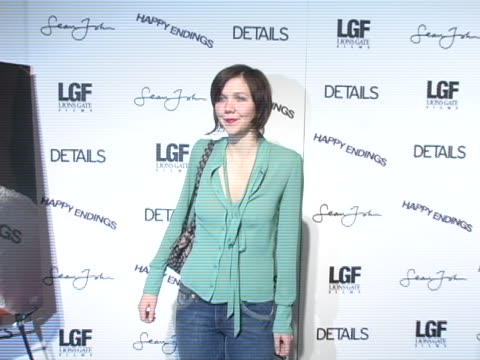 maggie gyllenhaal at the 2005 park city happy endings party at village at the lift in park city, utah. - park city stock videos & royalty-free footage