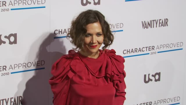 Maggie Gyllenhaal at the 2nd Annual Character Approved Awards Cocktail Reception at New York NY