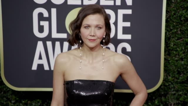 Maggie Gyllenhaal at the 75th Annual Golden Globe Awards at The Beverly Hilton Hotel on January 07 2018 in Beverly Hills California