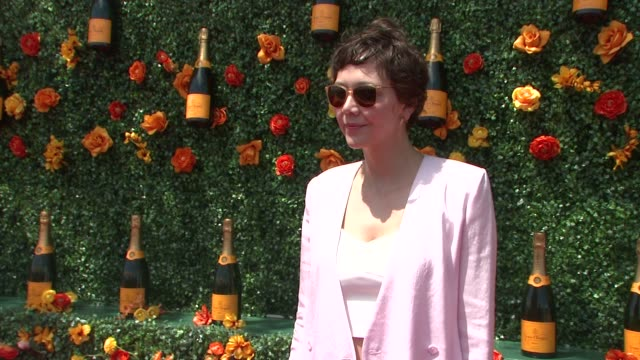 Maggie Gyllenhaal at Veuve Clicquot Polo Classic 2015 at Liberty State Park on May 30 2015 in Jersey City New Jersey