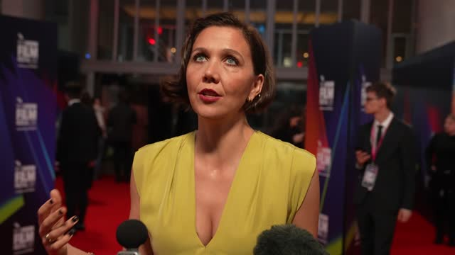 maggie gyllenhaal on directing her first film, create the right crew and set, turning the lost daughter book into a film, elena ferrante, prefer... - creativity stock videos & royalty-free footage