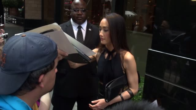 Maggie Q at the 2013 CW Upfront Presentation in New York NY on 5/16/13