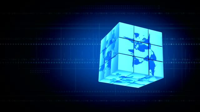 vídeos de stock e filmes b-roll de cubo mágico - estátua de atlas