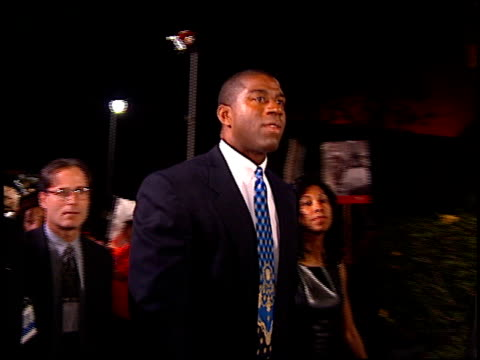 magic johnson at the bloomingdale's gala opening on november 7, 1996. - 1996 stock videos & royalty-free footage
