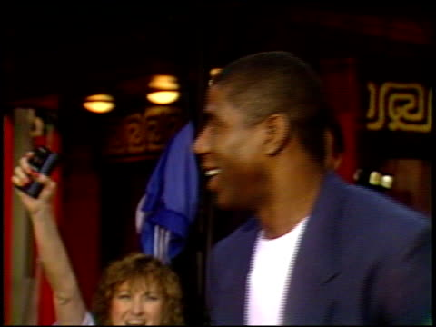 magic johnson at the 'ghost busters ii' premiere at grauman's chinese theatre in hollywood california on june 15 1989 - magic johnson stock videos and b-roll footage
