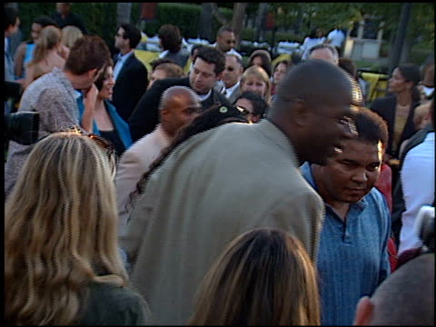 magic johnson at the premiere of 'the original kings of comedy' at paramount studios in hollywood california on august 10 2000 - magic johnson stock videos and b-roll footage