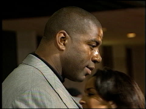 Magic Johnson at the Premiere of 'The Players Club' on April 6 1998