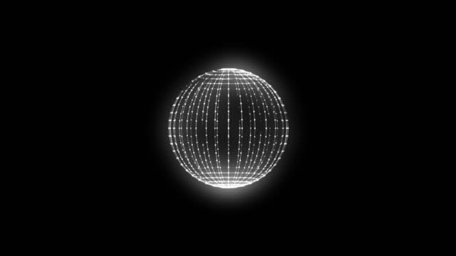 マジックパワーエネルギーテックボール - 原子炉 - 核原子 - 無限ループ - nuclear energy点の映像素材/bロール