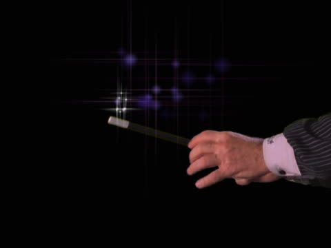 stockvideo's en b-roll-footage met magic wand transition - artbeats