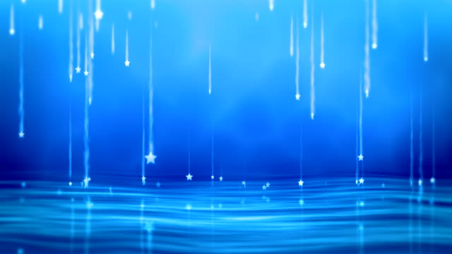 Magical Stars Falling