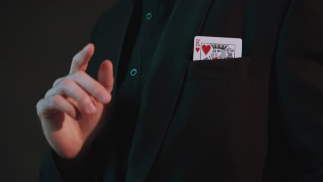 magician card trick - magic trick stock videos & royalty-free footage