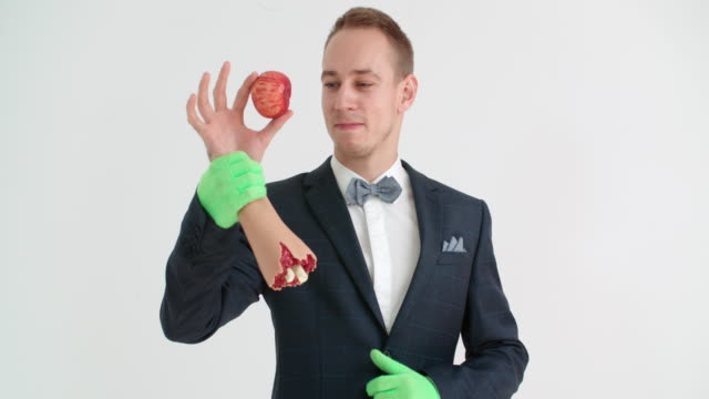 magician showing a magic trick - circus stock videos & royalty-free footage