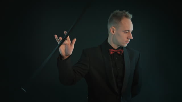 magician - walking stick stock videos & royalty-free footage