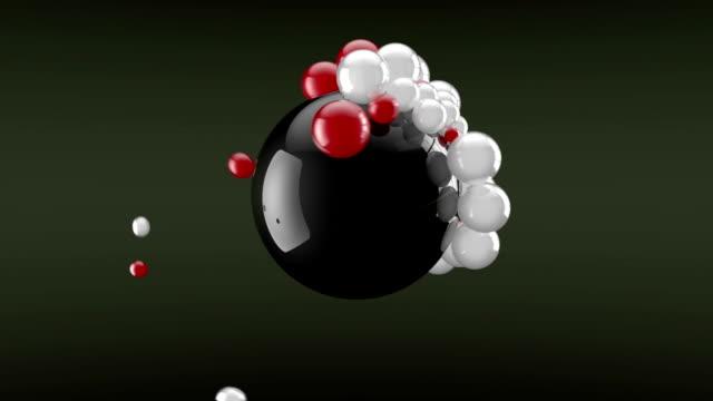 magnet-bälle - kugelform stock-videos und b-roll-filmmaterial
