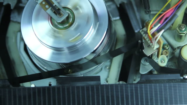 magnetic tape. - cable tv stock videos & royalty-free footage