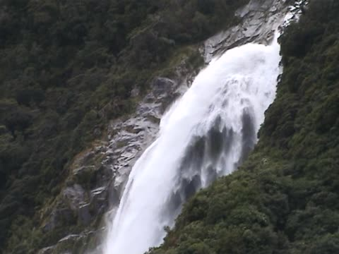magnificent waterfall - named wilderness area stock videos & royalty-free footage