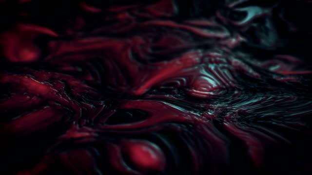vidéos et rushes de image de microscope magnifiée - veine humaine