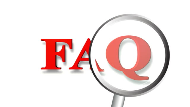faq magnify - q and a stock videos & royalty-free footage